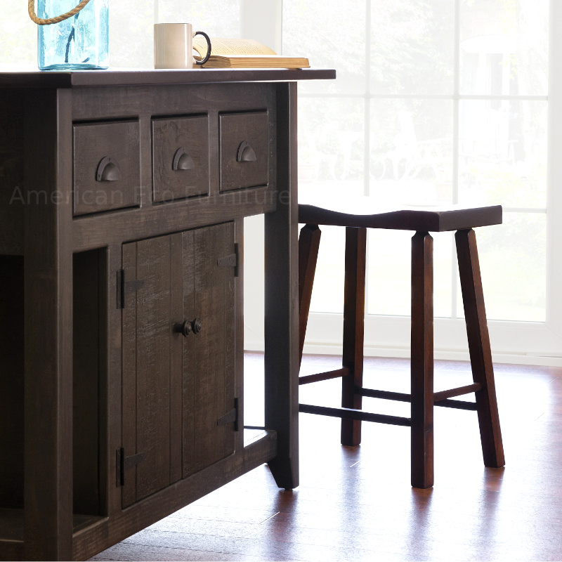 Bellamy Kitchen Island Made In Usa Solid Wood Dining