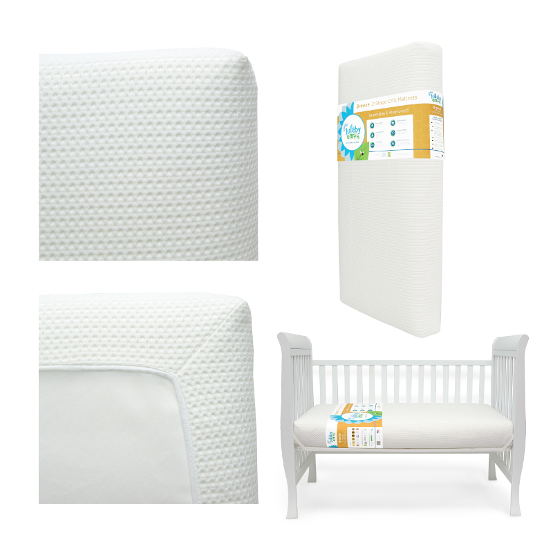 Lullaby Earth Breeze 2 Stage Super Lightweight Crib
