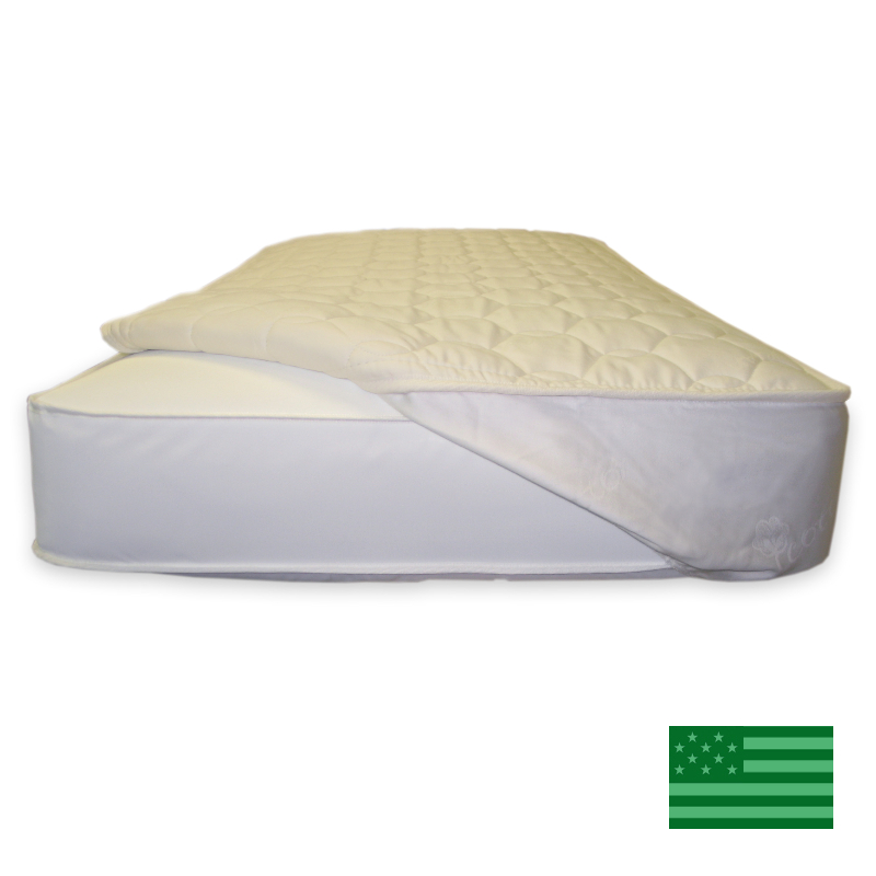 Naturepedic Organic Quilted Toddler Mattress Topper