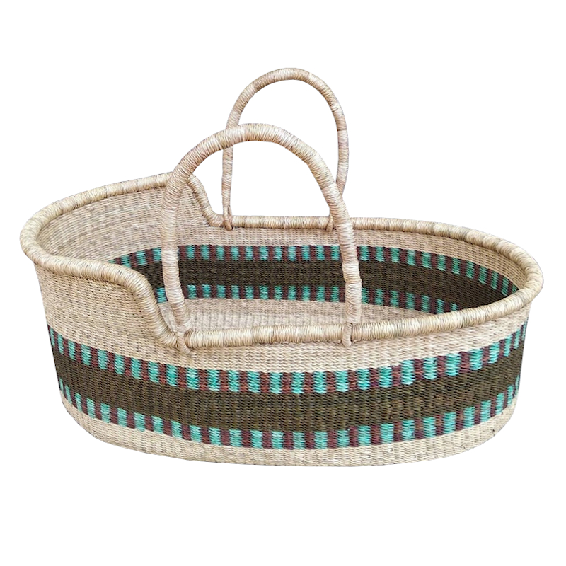 Large Meridian Moses Basket for Loungers