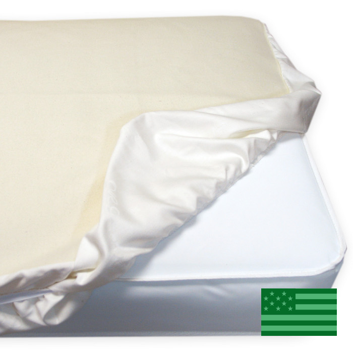 Naturepedic Organic Crib/Toddler Protector Pad - Fitted