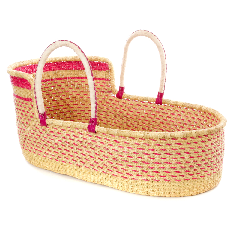 Large Niara Moses Basket for Loungers