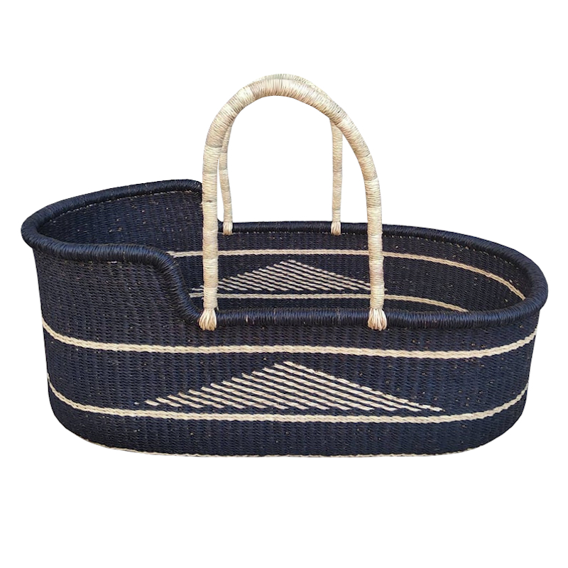 Large North Moses Basket for Loungers