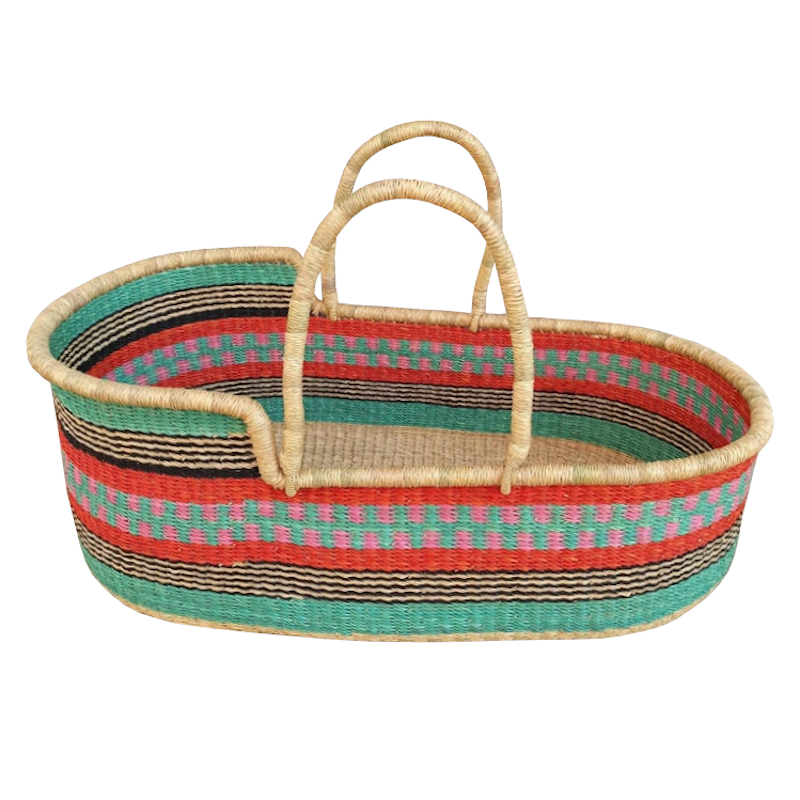 Large Orleans Moses Basket for Loungers