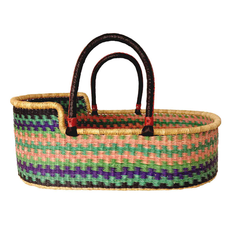 Large Silk Moses Basket for Loungers