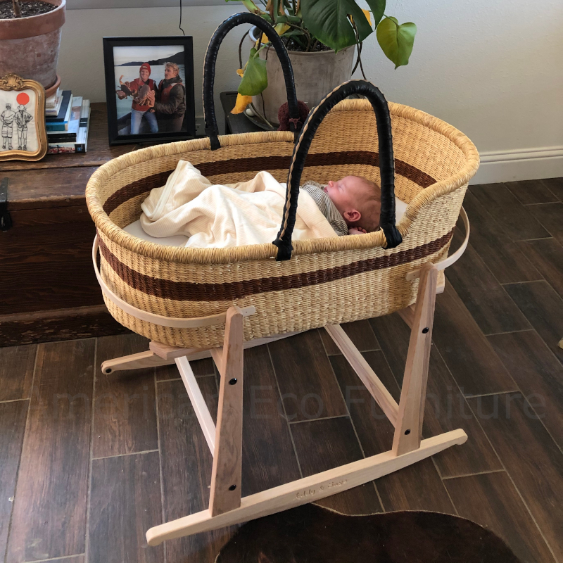 Large Skye Moses Basket for Loungers