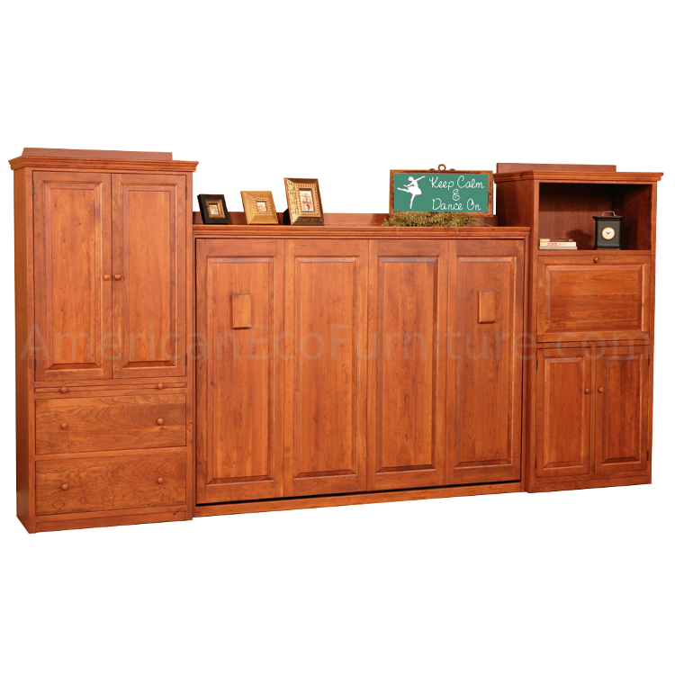 Camden Murphy Bed Made In Usa American Eco Furniture