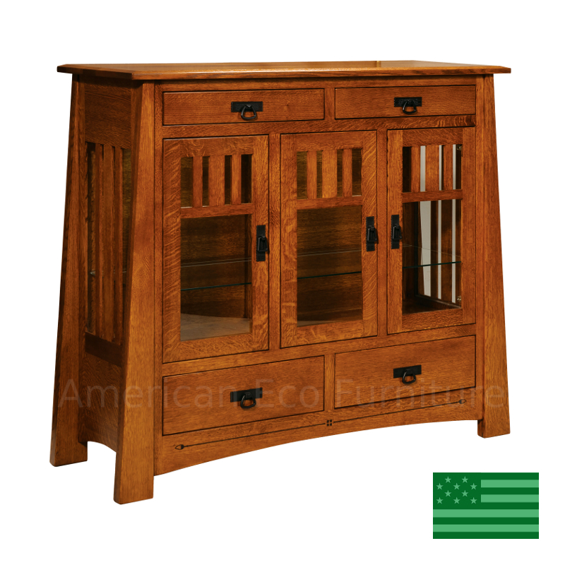 Clearwater Tall Buffet Made In Usa Solid Wood Dining