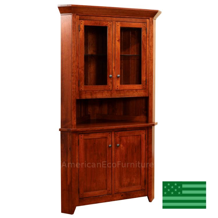 Made In America Corner Hutches Amp Cabinets American Eco