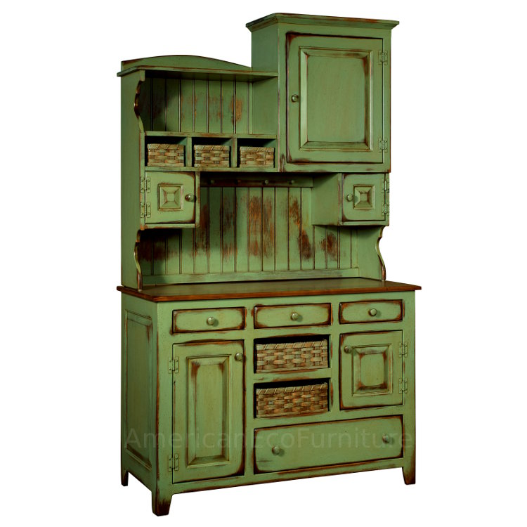 Liberty Hutch Made In Usa Solid Wood American Eco Furniture