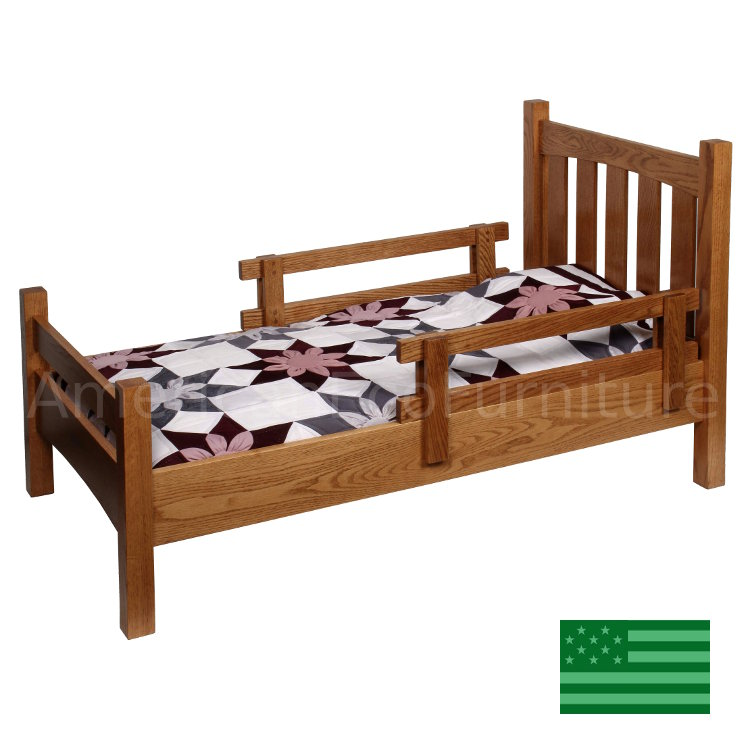 Mission Toddler Bed Made In Usa All Wood Children S Beds