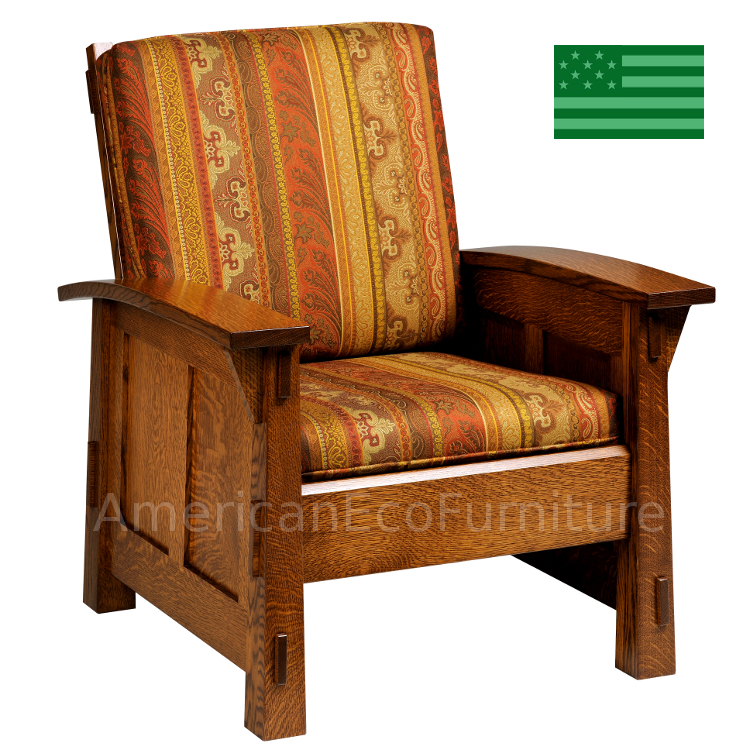 Amish Mission Viejo Chair Usa Made Living Room Chairs American Eco Furniture
