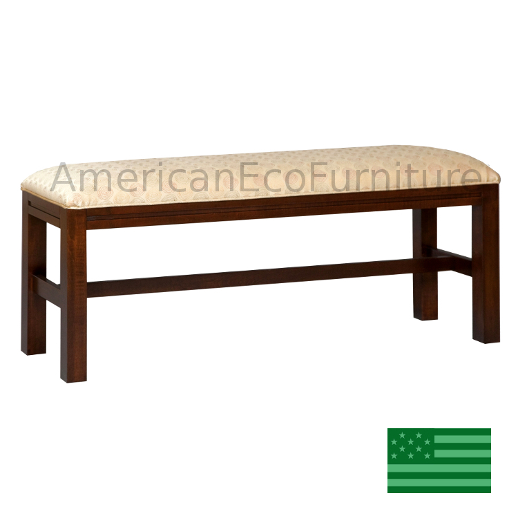 USA Made Benches amp Blanket Chests Solid Wood Benches  : madeinamericaamishparkviewbedseatwm750f1 from www.americanecofurniture.com size 750 x 750 jpeg 171kB