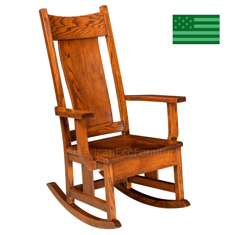 American Made Rocking Chairs American Eco Furniture