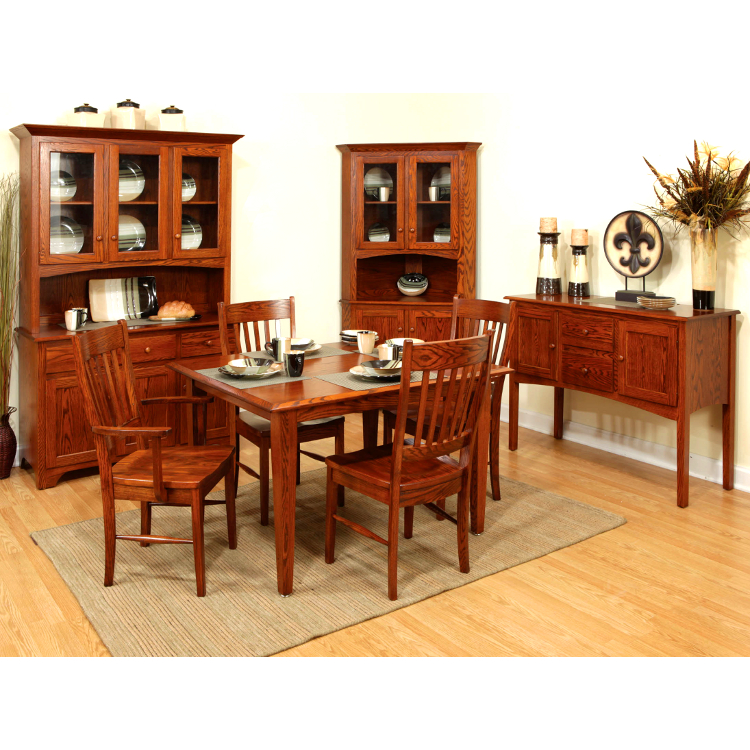 amish sherwood sideboard solid wood made in usa