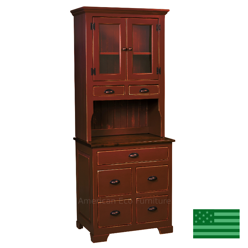 Amish small montreal hutch solid eastern white pine for M furniture montreal