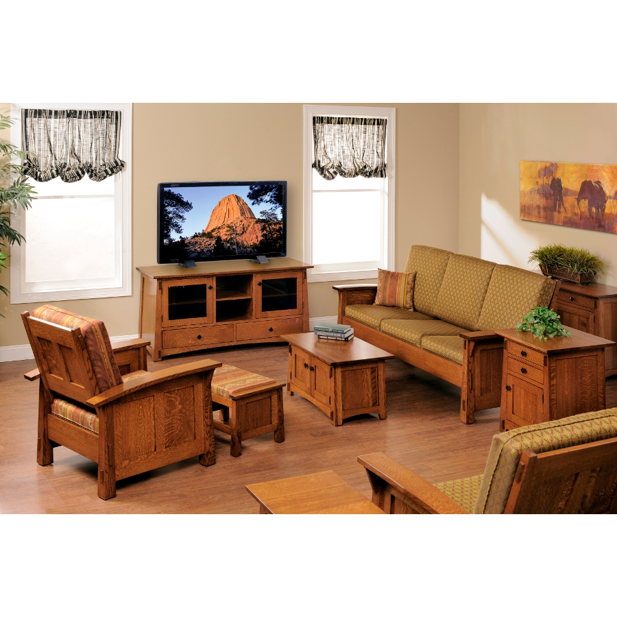 Amish Mission Viejo Chair Usa Made Living Room Chairs